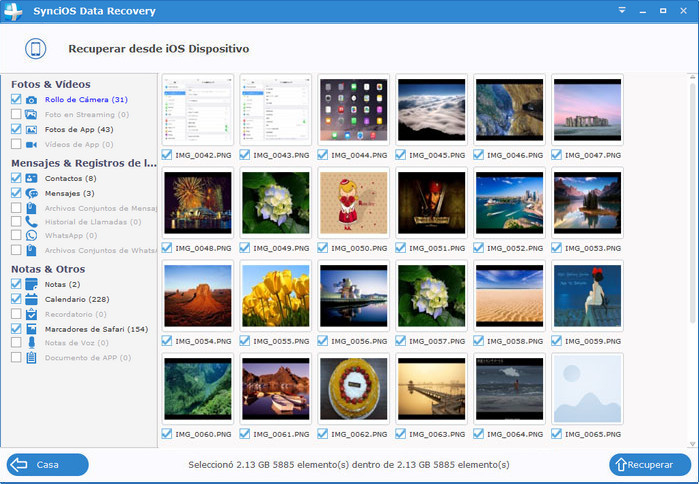 preview recoverable deleted photos