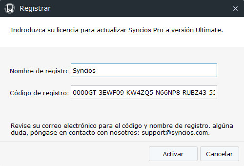Register Syncios iOS Manager